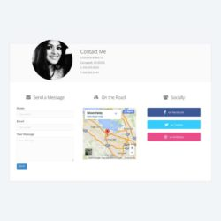 personal-contact-page-template-768x768